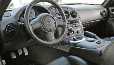 Dodge Viper Interior