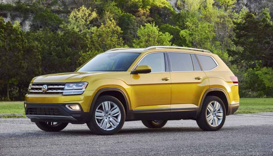 The VW Atlas is one of the best SUVs with third row seating