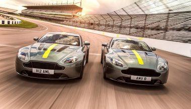 The Aston Martin Vantage AMR