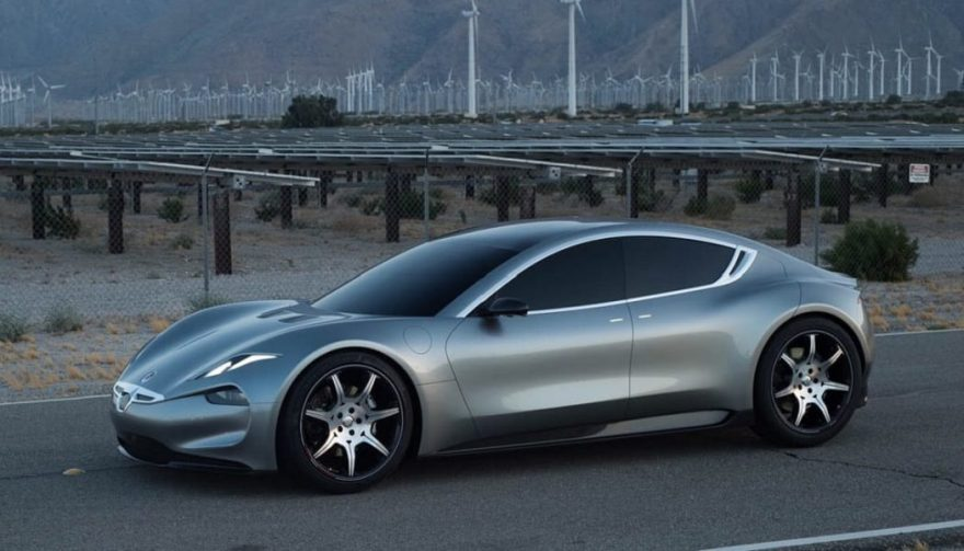 The Fisker EMotion electric car