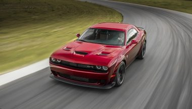 The Dodge Challenger SRT Hellcat Widebody