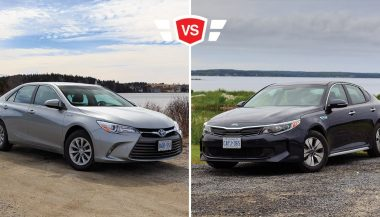 Toyota Camry Hybrid vs Kia Optima Hybrid