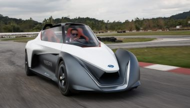 The Nisssan BladeGlider EV prototype