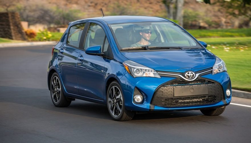 The 2017 Toyota Yaris