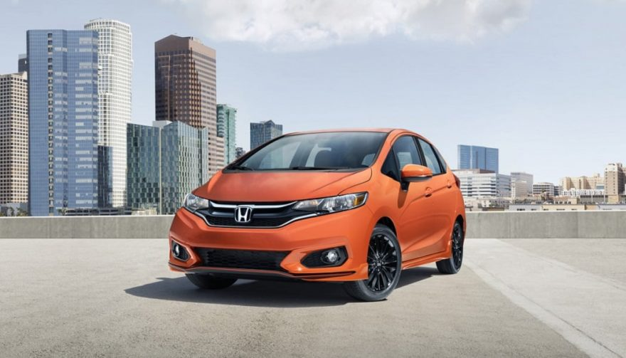 The 2018 Honda Fit received a few updates over 2017