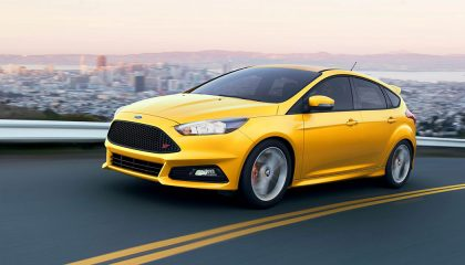 The 2017 Ford Focus ST