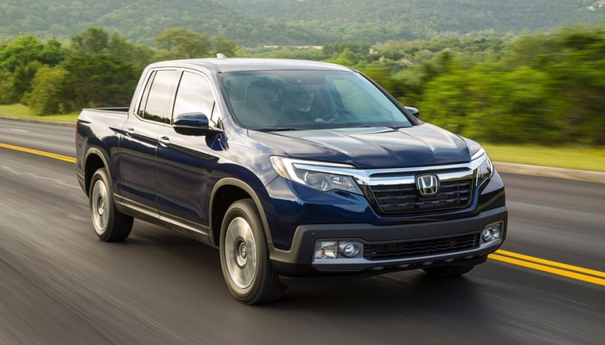 The Ridgeline boosts Honda truck sales