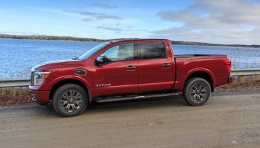 The 2017 Nissan Titan Platinum Reserve