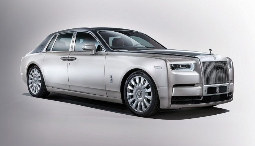 The new Rolls-Royce Phantom VIII