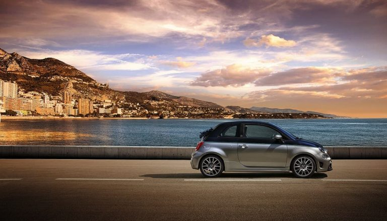The Abarth 695 Rivale is meant to resemble a yacht