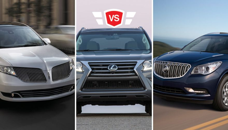 Buick Enclave vs Lincoln MKT vs Lexus GX 460