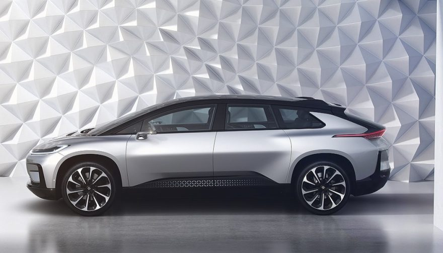The FF 91 will be the main objective for a recent Faraday Future hire