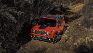 The 2017 Jeep Renegade Trailhawk