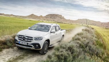 The X-Class Mercedes truck
