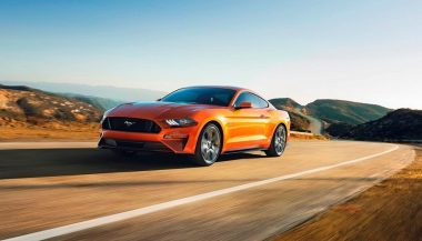 The new Ford Mustang GT