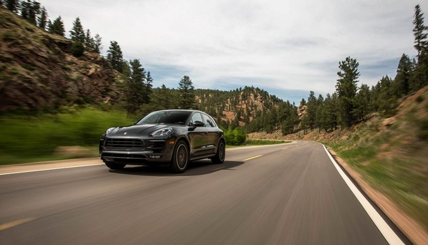 The Porsche Macan led Porsche sales during the first half of 2017