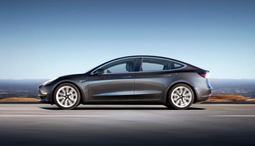 Tesla Model 3 details