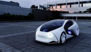Toyota Reseach Institute helped create this Concept-i autonomous car