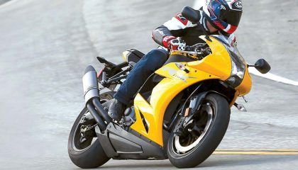 The EBR-1190RX has one of the fastest motorcycle 0-60 mph times