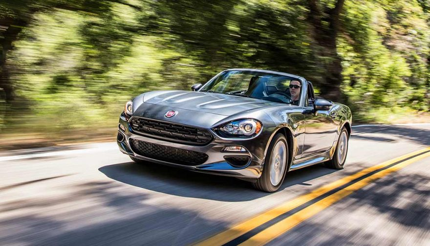The 2017 Fiat 124 Spider Classica is one of the best affordable sports cars