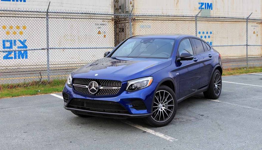 The Mercedes AMG GLC 43 Coupe
