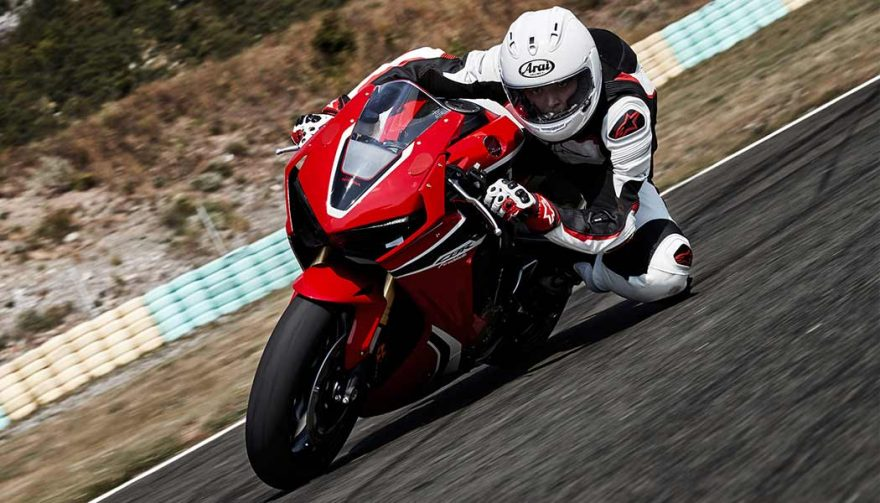 The Honda CBR1000RR has one of the fastest motorcycle 0-60 times