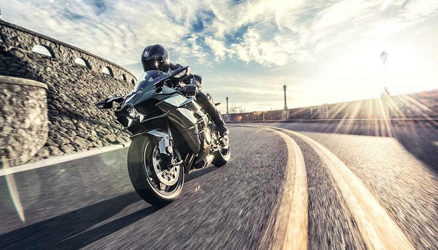 The Kawasaki Ninja H2 has one of the fastest motorcycle 0-60 times