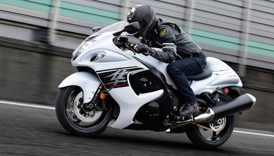 The Suzuki Hayabusa has one of the fastest motorcycle 0-60 times