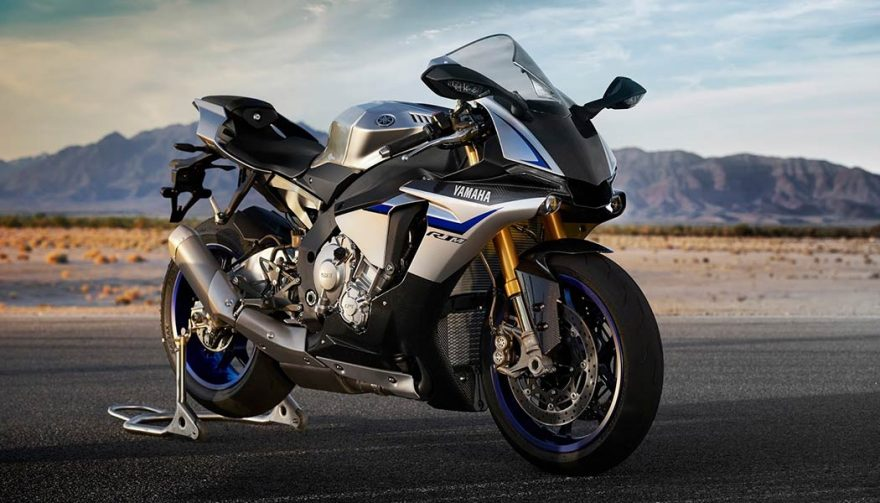 The Yamaha YZF-R1M has the fastest motorcycle 0-60 mph time
