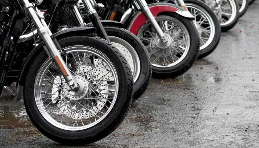 Shoppers consider their first motorcycle