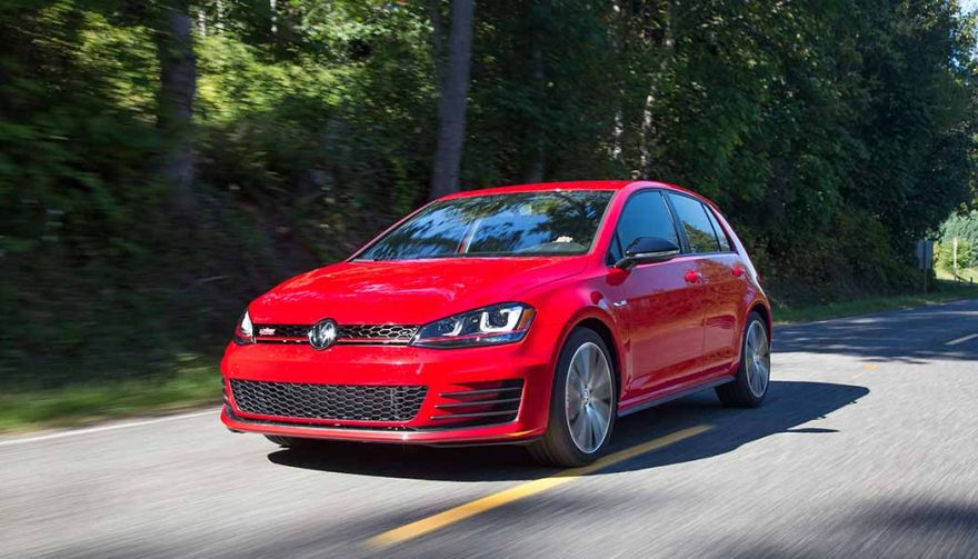 The 2017 VW Golf GTI is one of the best affordable sports cars