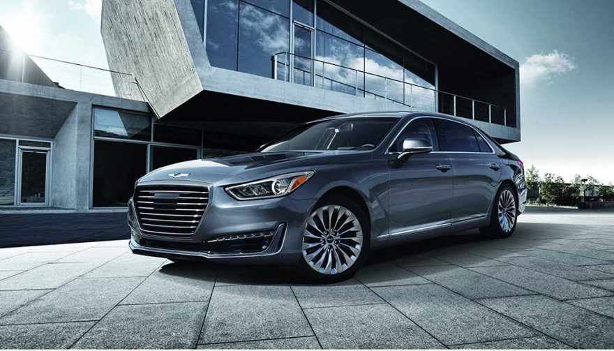 The Genesis G90 is one of two Hyundai luxury cars
