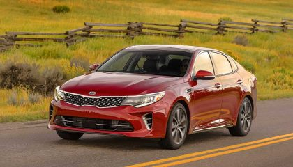 The Kia Optima is one of the low maintenance cars