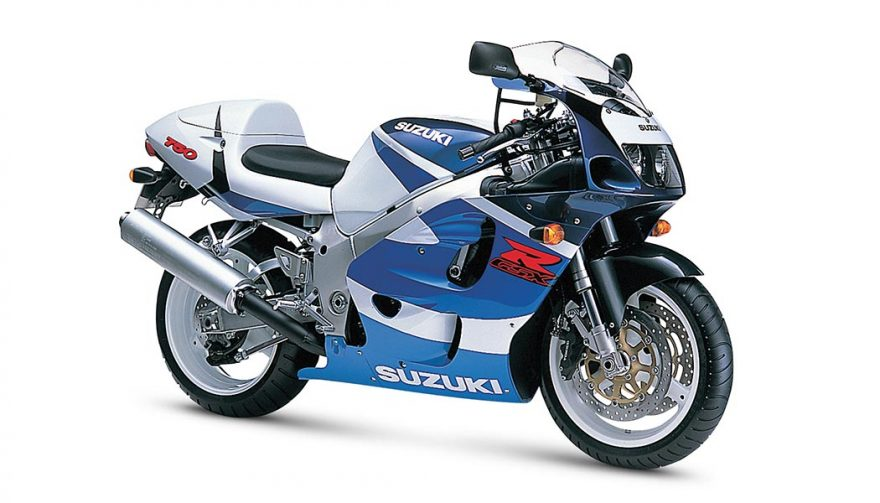 The 1996 Suzuki GSX-R750 is one of the best used motorcycles