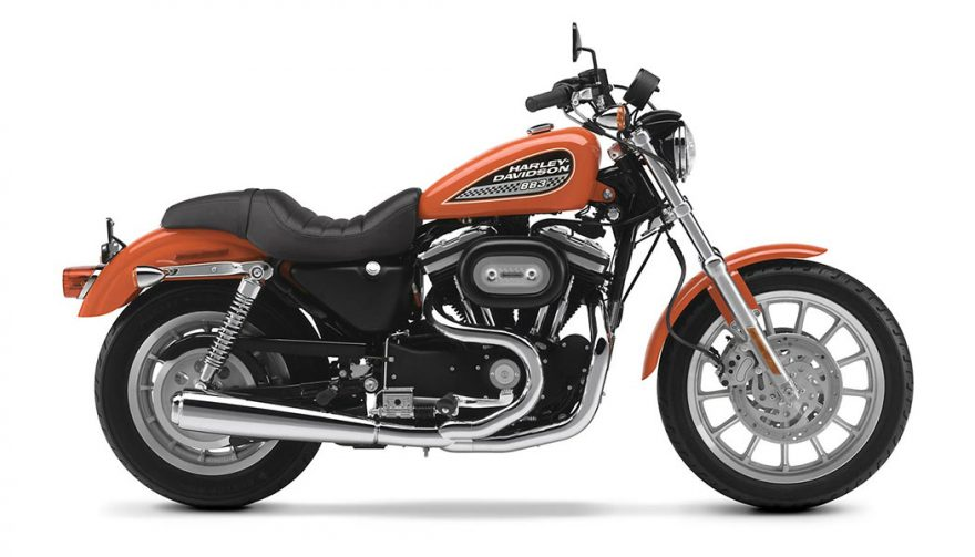 The 2002 Harley Davidson Sportster 883 is one of the best used motorcycles