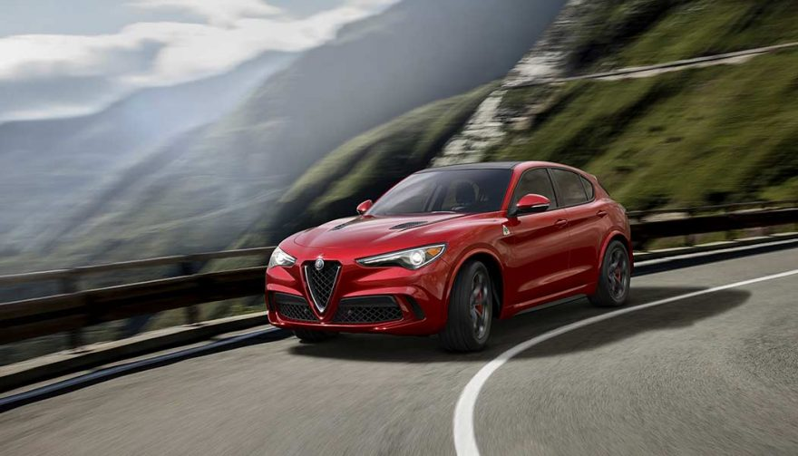 The 2018 Alfa Romeo Stelvio Quadrifoglio is one of the new SUV crossovers for 2018