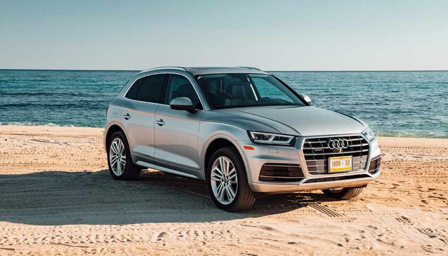The 2018 Audi Q5 is one of the new SUV crossovers for 2018