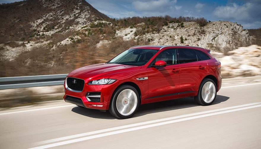 The 2018 Jaguar F-Pace is one of the new SUV crossovers coming soon