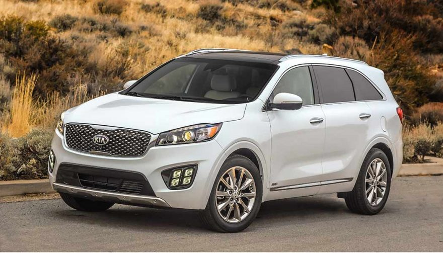 The Kia Sorento is one of the new SUV crossovers for 2018