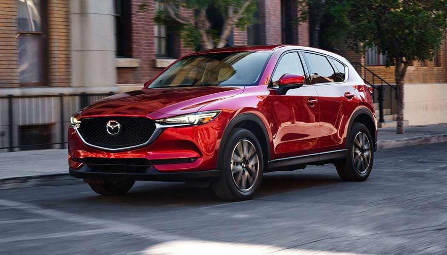The 2018 Mazda CX-5 is one of the new SUV crossovers coming soon