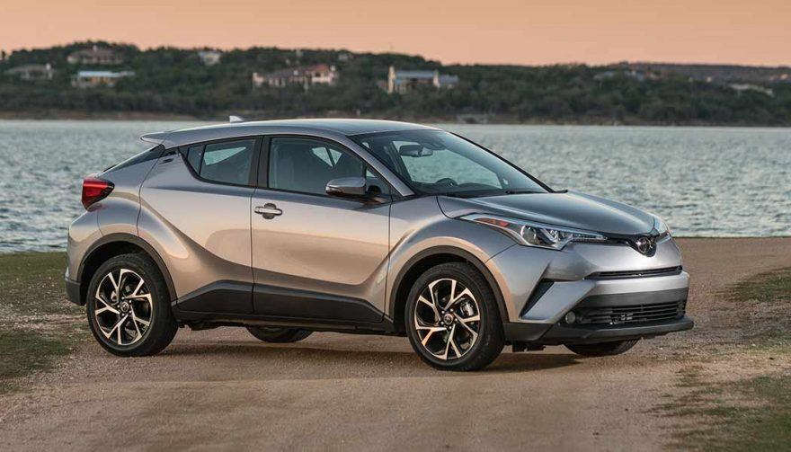 The 2018 Toyota C-HR is one of the new SUV crossovers coming soon