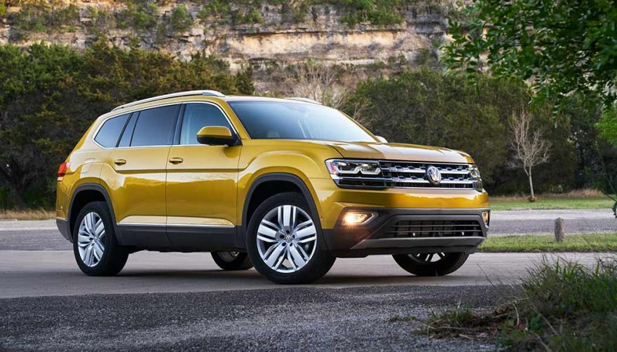 The VW Atlas is one of the new SUV crossovers for 2018