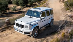 Mercedes-Benz G-Wagen is one of the best luxury off road suv.