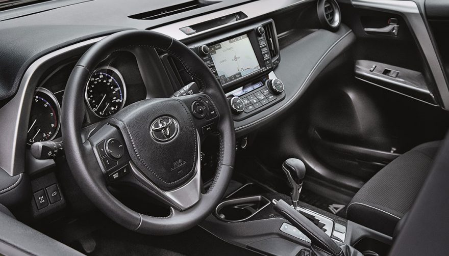 2018 Toyota RAV4 Adventure Interior