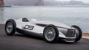 The Infiniti Prototype 9 electric car concept