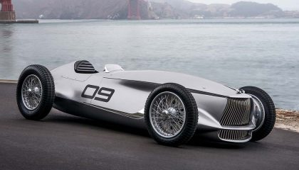 The Infiniti Prototype 9 electric car concept