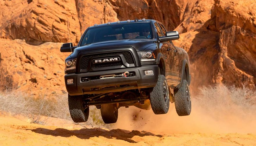 The Ram Power Wagon is the best off road truck