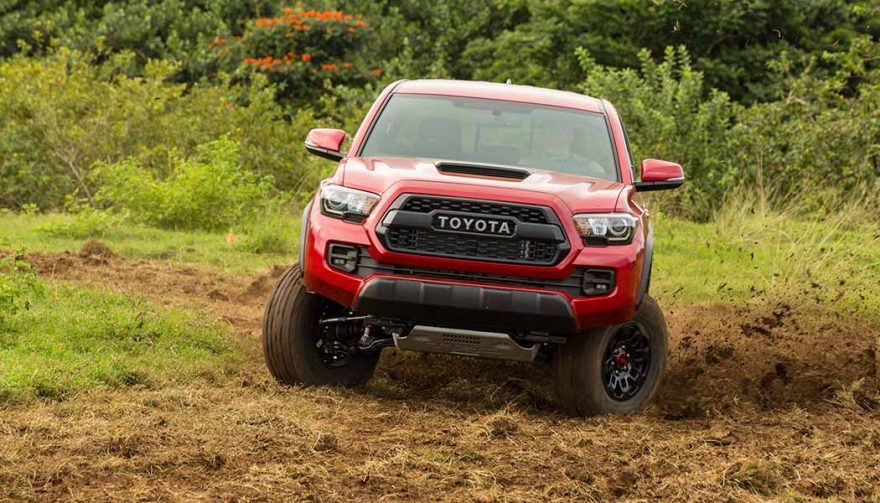 The 2017 Toyota Tacoma TRD Pro is one of the best off road trucks