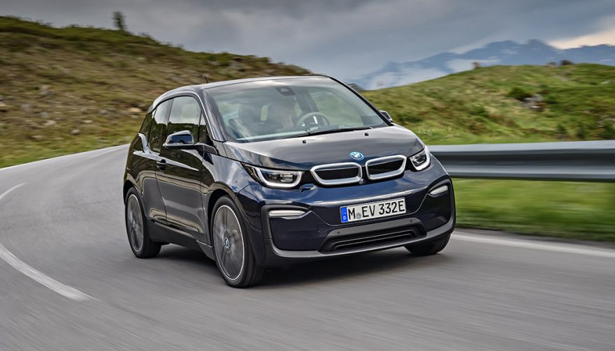 A BMW i3 with updated features