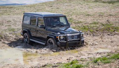 Mercedes-Benz G-Wagen is one of the best off road SUVs